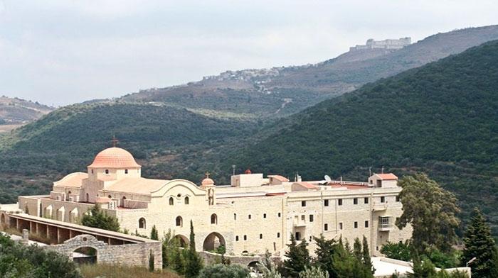 Adormirea Maicii Domnului si Sf.Gheorghe din Siria
