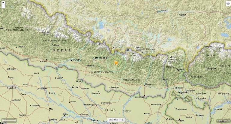 cutremur nepal 12 mai 2015