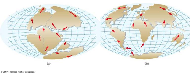 movement of tectonic plates 2