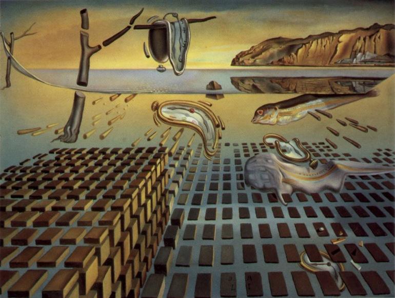 Salvador Dali Scurgerea timpului